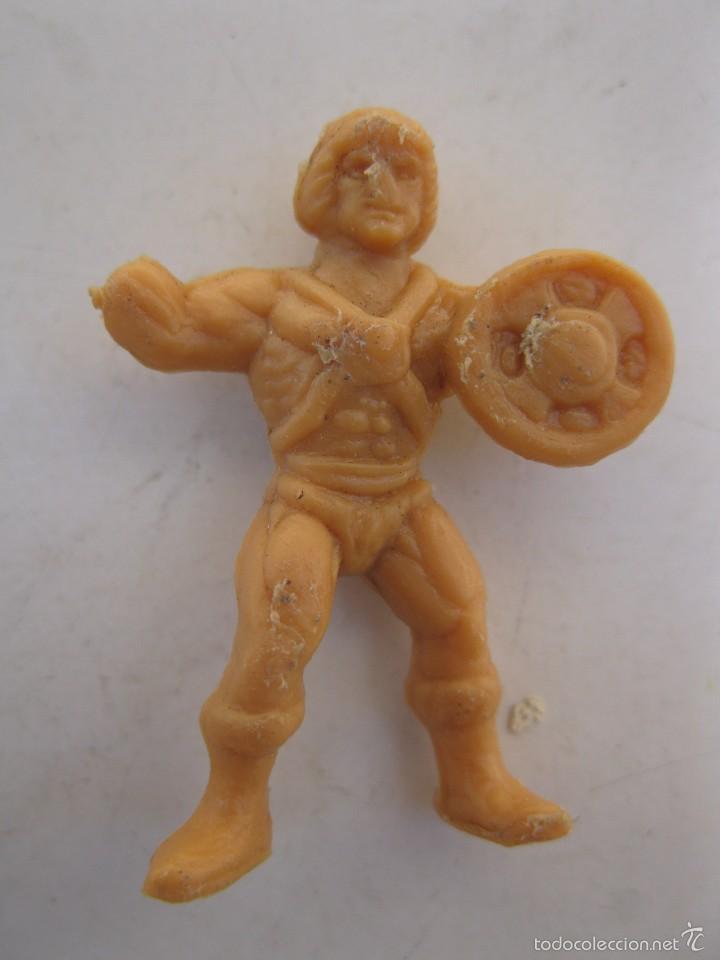 HE-MAN - FIGURA PROMOCIONAL DE PLÁSTICO - MASTERS DEL UNIVERSO - DUNKIN. (Juguetes - Figuras de Goma y Pvc - Dunkin)