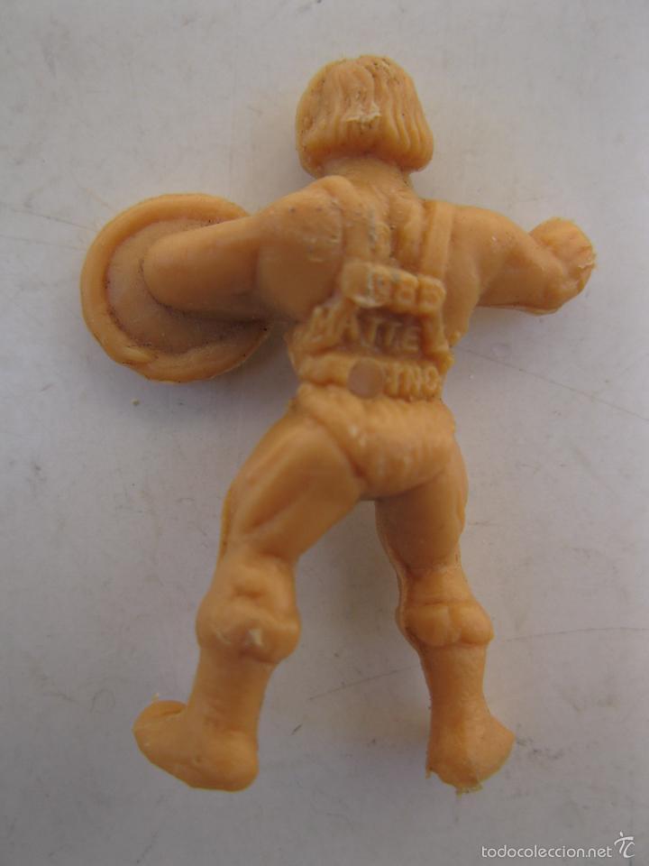 Figuras de Goma y PVC: HE-MAN - FIGURA PROMOCIONAL DE PLÁSTICO - MASTERS DEL UNIVERSO - DUNKIN. - Foto 2 - 56384457