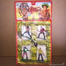 Figuras de Goma y PVC: RARO BLISTER DE OLIVER / PECH HERMANOS NUEVO SIN USO. Lote 56394936