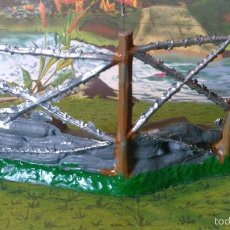 Figuras de Goma y PVC: COMANSI---TRINCHERA ALAMBRADA 1. Lote 56430631