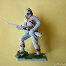 Figuras de Goma y PVC: FIGURA LAFREDO RARO CONFEDERADO AÑOS 60. Lote 56430656