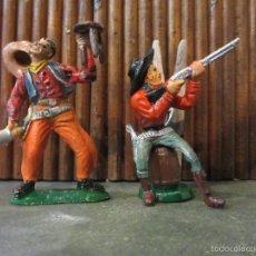 Figuras de Goma y PVC: FIGURA VAQUERO PLASTICO. Lote 56488860