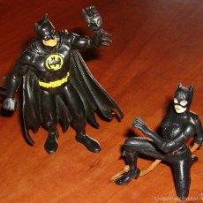 Figuras de Goma y PVC: COMICS SPAIN: BATMAN 1989 Y CATWOMAN 1992 ¡MUY RARA Y DIFÍCIL!, DE LA PELÍCULA DE TIM BURTON. Lote 56516124