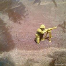 Figuras de Goma y PVC: SOLDADO AMERICANO DUNKIN CON AMETRALLADORA COMPLETA AÑOS 60 ORIGINAL. Lote 56527763