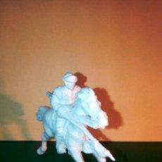 Figuras de Goma y PVC: CABALLERO BLANCO. Lote 56528986