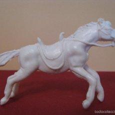 Figuras de Goma y PVC: CABALLO BLANCO DE PECH.. Lote 56534844