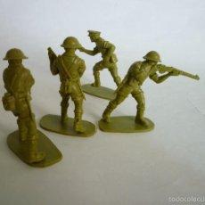 Figuras de Goma y PVC: FIGURAS SOLDADOS BRITANICOS 54MM. Lote 56611612
