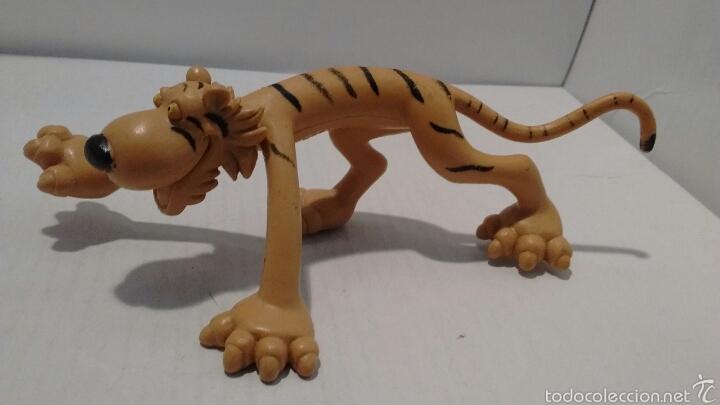 CURIOSA FIGURA DE GOMA. TIGER. (Juguetes - Figuras de Goma y Pvc - Otras)