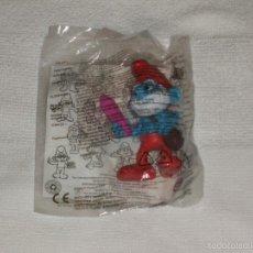 Figuras de Goma y PVC: JUGUETE HAPPY MEAL COLECCIÓN PITUFOS. Lote 56672137