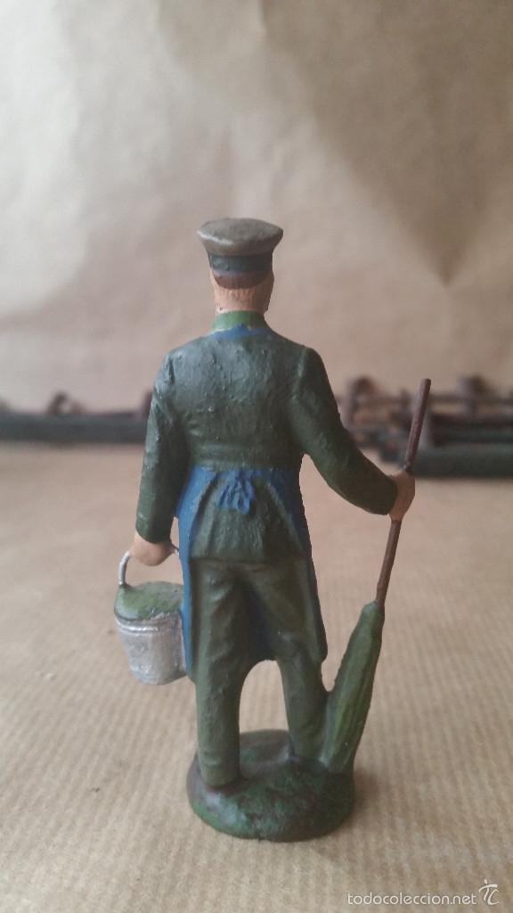 Figuras de Goma y PVC: cuidador de zoo LINEOL 1950 - Foto 2 - 56703470