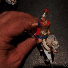 Figuras de Goma y PVC: SOLDADO ROMANO A CABALLO CENTURION,GOMA,REAMSA AÑOS 50-60,PERFECTO ESTADO. Lote 56724998