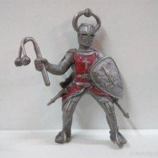 Figuras de Goma y PVC: GUERRERO MEDIEVAL PARA CABALLO. Lote 56833223