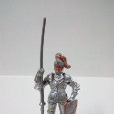 Figuras de Goma y PVC: GUERRERO MEDIEVAL . ELASTOLIN . AÑOS 60. Lote 56833387