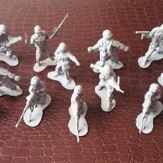 Figuras de Goma y PVC: LOTE DE 23 SOLDADOS GRISES - ARMY FORCES - TOY MAJOR - HONG KONG.. Lote 56852709