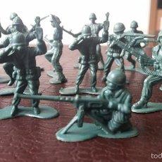 Figuras de Goma y PVC: LOTE DE 88 SOLDADOS - ARMY FORCES - TOY MAJOR - HONG KONG.. Lote 56852799