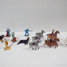 Figuras de Goma y PVC: CORRIDA DE TOROS . PECH . AÑOS 60. Lote 56854876