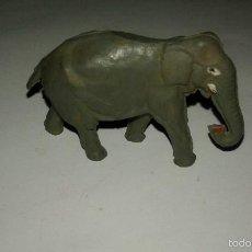 Figuras de Goma y PVC: PECH HERMANOS ANIMALES SALVAJES ELEFANTE DE GOMA AÑOS 50 AFRICA SALVAJE. Lote 56873434