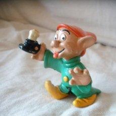 Figuras de Goma y PVC: FIGURA PVC ENANITO MUDITO BLANCANIEVES COMICS SPAIN WALT DISNEY ,PRODS.. Lote 56879963