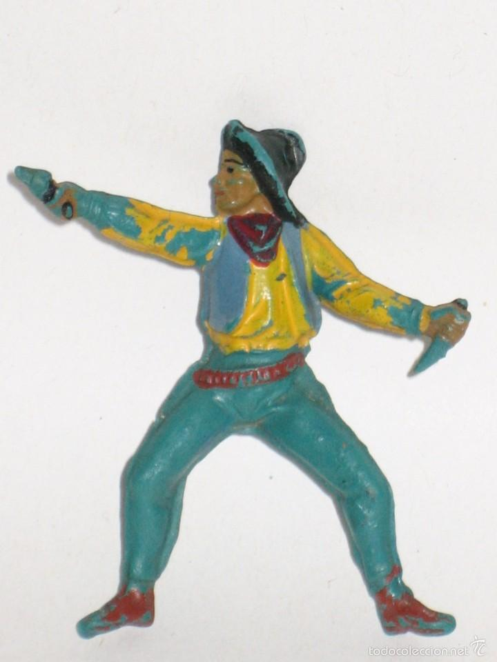 PECH HERMANOS SERIE OESTE VAQUERO COWBOY DE GOMA (Juguetes - Figuras de Goma y Pvc - Pech)