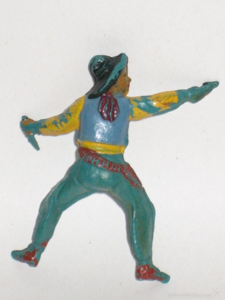 Figuras de Goma y PVC: PECH HERMANOS SERIE OESTE VAQUERO COWBOY DE GOMA - Foto 2 - 56926860
