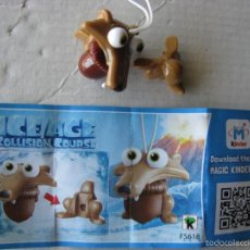 Figuras Kinder: KINDER SORPRESA FIGURA FIGURAS MUÑECO MUÑECOS HUEVO CHOCOLATE FERRERO ICE AGE - 5 2016 BPZ FS618. Lote 218233425