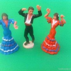 Figuras de Goma y PVC: JECSAN CUADRO FLAMENCO. Lote 56981306