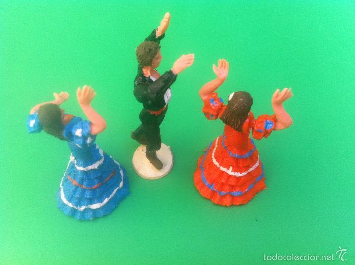 Figuras de Goma y PVC: jecsan cuadro flamenco - Foto 2 - 56981306