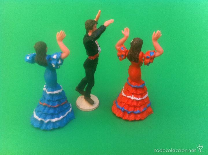 Figuras de Goma y PVC: jecsan cuadro flamenco - Foto 3 - 56981306