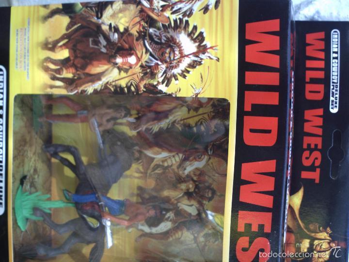 Figuras de Goma y PVC: caja con indios de jecsan - Foto 4 - 56990185