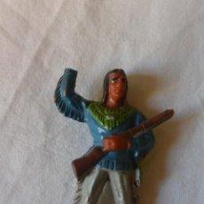 Figuras de Borracha e PVC: INDIO DE GOMA POSIBLE TEIXIDO-JECSAN U OTROS AÑOS 50. Lote 56993779