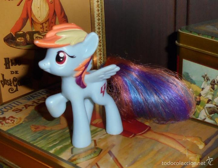 PEQUEÑO LITTLE PONY - RAINBOW DASH - G4 2011 McDONALDS - HASBRO