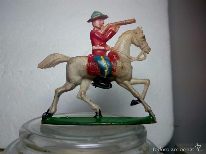 LOTE POLICIA MONTADA - CAPELL (Juguetes - Figuras de Goma y Pvc - Capell)