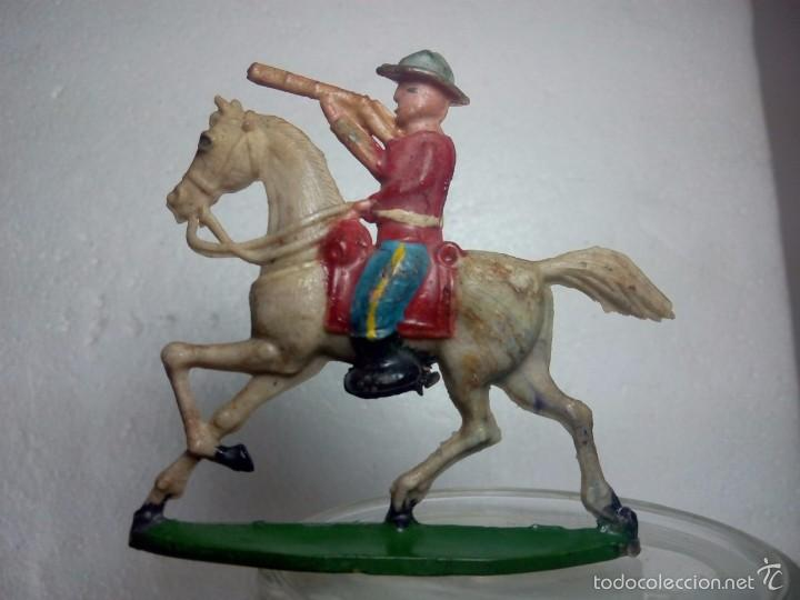 Figuras de Goma y PVC: Lote policia montada - Capell - Foto 2 - 57046767