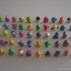 Figuras de Goma y PVC: LOTE 50 GOGO'S / GOGOS CRAZY BONES – MAGIC BOX INT.. Lote 173843069