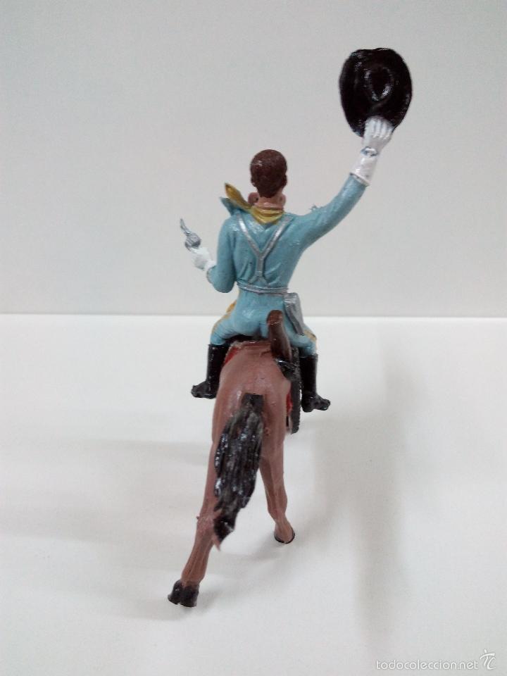 Figuras de Goma y PVC: FANTASTICO SOLDADO FEDERAL DEL 7º DE CABALLERIA. COMANSI. SERIE GRANDE 9 CM . AÑOS 60 - Foto 9 - 57068440