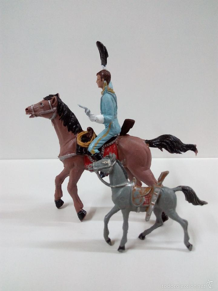 Figuras de Goma y PVC: FANTASTICO SOLDADO FEDERAL DEL 7º DE CABALLERIA. COMANSI. SERIE GRANDE 9 CM . AÑOS 60 - Foto 11 - 57068440