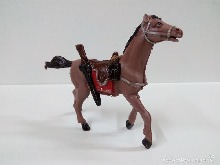 Figuras de Goma y PVC: FANTASTICO SOLDADO FEDERAL DEL 7º DE CABALLERIA. COMANSI. SERIE GRANDE 9 CM . AÑOS 60 - Foto 16 - 57068440