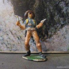 Figuras de Goma y PVC: VAQUERO JECSAN PLASTICO. Lote 57073517