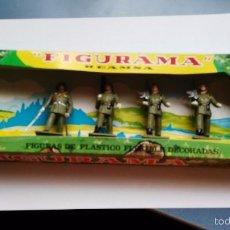 Figuras de Goma y PVC: CAJA ANTIGUA DE FIGURAMA REAMSA SOLDADOS DESFILE . Lote 57088100