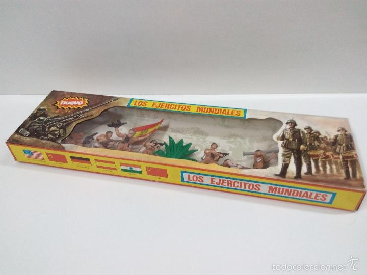 Figuras de Goma y PVC: LOS EJERCITOS MUNDIALES . ESPAÑOLES COMBATE . PECH . CAJA ORIGINAL - Foto 3 - 57091700
