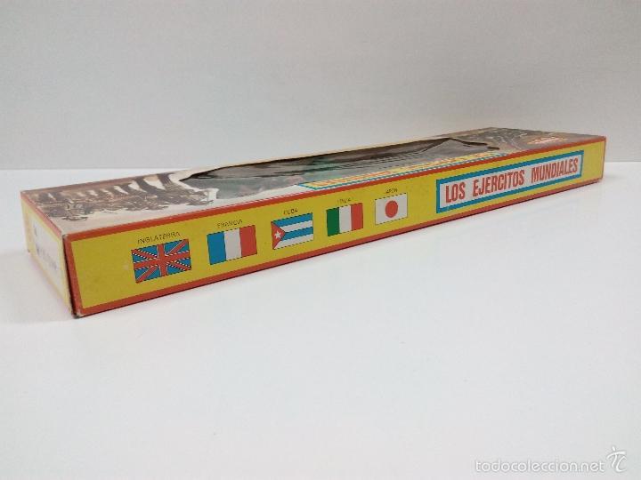 Figuras de Goma y PVC: LOS EJERCITOS MUNDIALES . ESPAÑOLES COMBATE . PECH . CAJA ORIGINAL - Foto 5 - 57091700