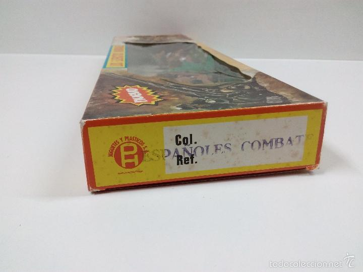 Figuras de Goma y PVC: LOS EJERCITOS MUNDIALES . ESPAÑOLES COMBATE . PECH . CAJA ORIGINAL - Foto 6 - 57091700