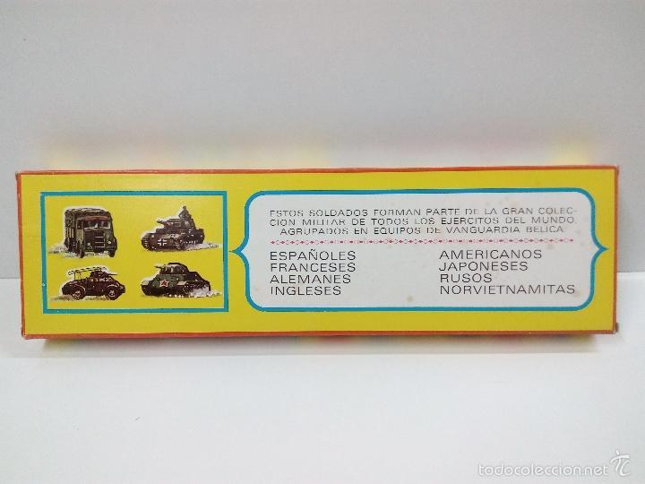 Figuras de Goma y PVC: LOS EJERCITOS MUNDIALES . ESPAÑOLES COMBATE . PECH . CAJA ORIGINAL - Foto 7 - 57091700