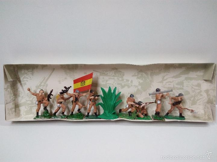 Figuras de Goma y PVC: LOS EJERCITOS MUNDIALES . ESPAÑOLES COMBATE . PECH . CAJA ORIGINAL - Foto 8 - 57091700