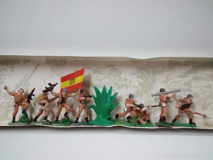 Figuras de Goma y PVC: LOS EJERCITOS MUNDIALES . ESPAÑOLES COMBATE . PECH . CAJA ORIGINAL - Foto 9 - 57091700