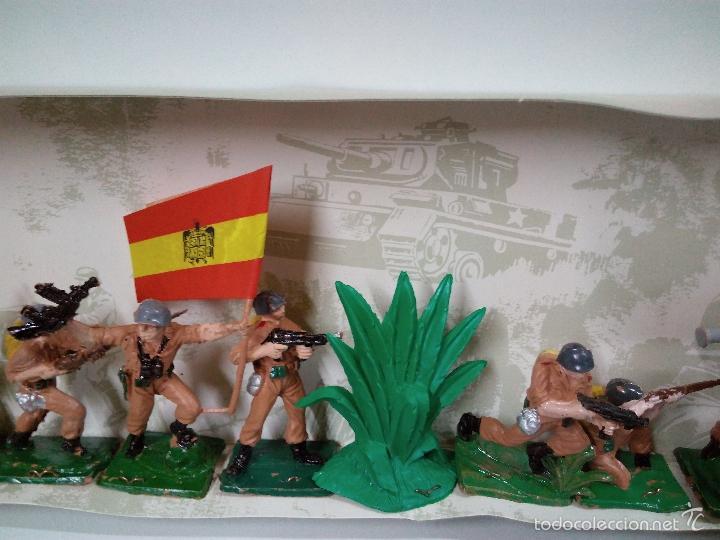 Figuras de Goma y PVC: LOS EJERCITOS MUNDIALES . ESPAÑOLES COMBATE . PECH . CAJA ORIGINAL - Foto 10 - 57091700