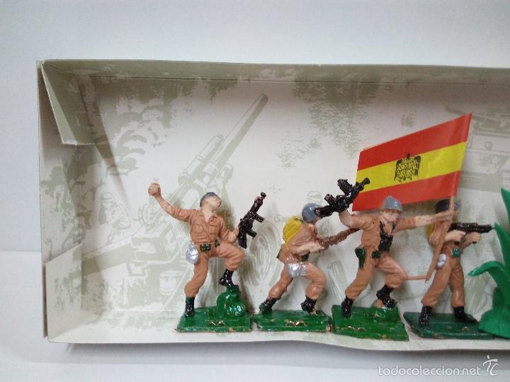 Figuras de Goma y PVC: LOS EJERCITOS MUNDIALES . ESPAÑOLES COMBATE . PECH . CAJA ORIGINAL - Foto 11 - 57091700