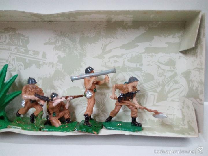 Figuras de Goma y PVC: LOS EJERCITOS MUNDIALES . ESPAÑOLES COMBATE . PECH . CAJA ORIGINAL - Foto 12 - 57091700