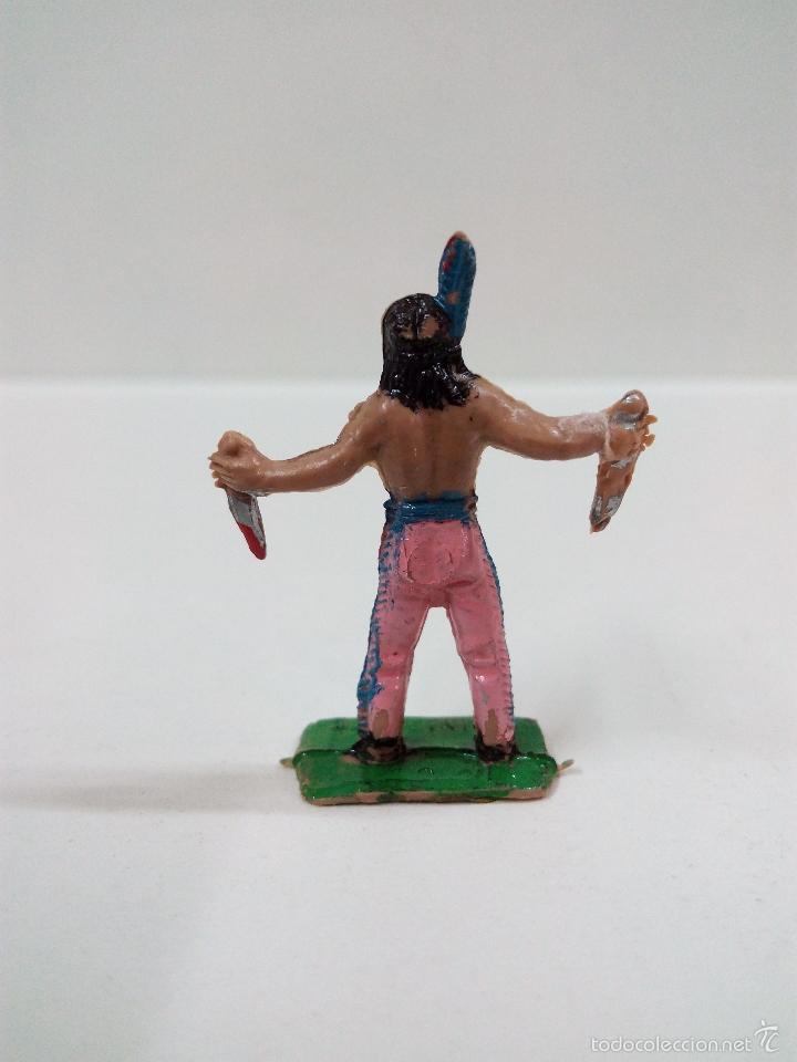 Figuras de Goma y PVC: INDIO . MINI OESTE . COMANSI - Foto 3 - 57113732