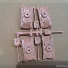 Figuras de Goma y PVC: MONTAPLEX TANQUES. Lote 57114583